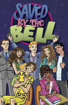 Saved by the Bell by Joelle Sellner. Zack, Slater, Kelly, Lisa, Screech and Jessie (and Mr. Belding, of course!) are starting freshman year at Bayside High, trading in brick phones and mullets for iPhones and Twitter accounts. Does Lisa's fashion show get on the air, and will Screech ever leave her alone? Will Jessie get that A+? And, most importantly, who's Kelly going to go out with-- preppy Zack or new star athlete A.C. Slater? (Young Adult Graphic Novel)