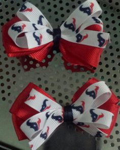 Small Texans bows