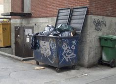 alley dumpster - Google Search