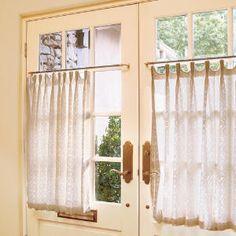 Photo: Laurey  Glenn. Image: southernliving.com  #sheer #curtains #decorating