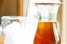 Double Strength Simple Syrup. To add to iced tea, coffee, etc. This is working pretty well for me. Could add a little of a flavoring extract if you always add it to the same thing, but since I might add it to iced tea and not just coffee, I'm sticking with plain.