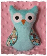 Ollie Owl softie in the hoop - GG Designs Embroidery