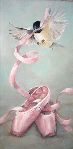 Beautiful Pinks  Ballet Slippers