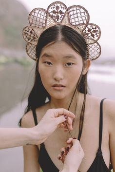 Verbena, Hair Pins, Headpiece, Headbands, Hoop Earrings, Hair Combs, Costumes, Rattan, Madrid