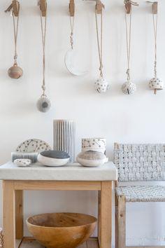 M Quan Studio handmade ceramics, modern wall decor