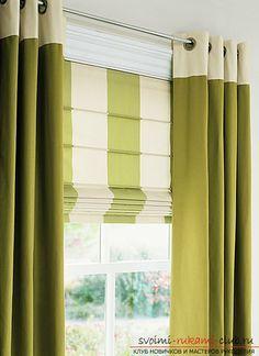 Как самостоятельно изготовить стильные и функциональные римские шторы для кухни…