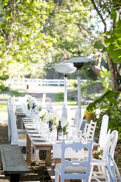 Rustic farm table and chair rentals.   www.finderskeepersrentals.com