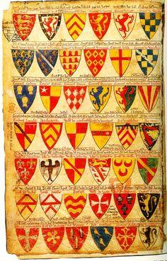 Exhibit-Inspired Family Craft Activities: Medieval Heraldry