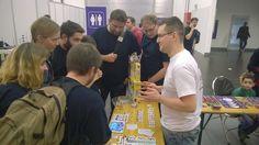 Check out how are doing #kickstarter in #essen2015 fair! :D Kickstarter progress!