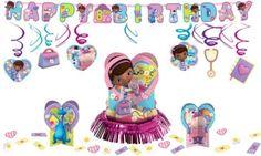 Doc McStuffins Party Decorations Kit - Girls Birthday Party Themes - Girls Birthday - Birthday Party Supplies - Party City