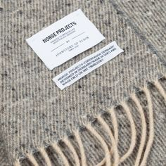 Norse Projects Johnstons X Norse Donnegal Scarf - Norse Projects