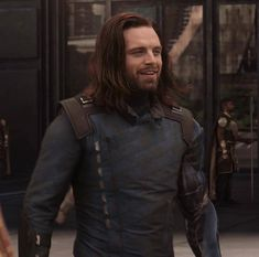 I live for this look ♥️ I'll probably be less active here because of work and other stuff. I'm also going through a writer's block so I'm… Sebastian Stan, Wade Wilson, Steve Rogers, Marvel Memes, Marvel Avengers, James Barnes, Ben Barnes, Thor Y Loki, Star Trek