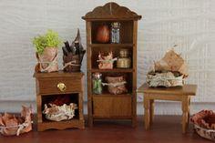 Fairy basket tutorial miniature from beneath the ferns #miniature #fairyhouse #fairygarden #beneaththeferns 11