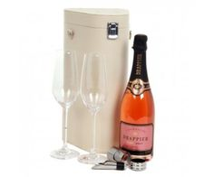 Drappier Champagne and Flutes