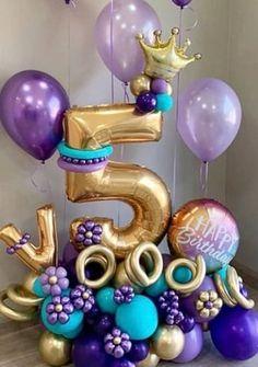 Birthday Balloon Decorations, Diy Party Decorations, Birthday Balloons, Birthday Surprise For Husband, Birthday Morning Surprise, Balloon Tassel, Balloon Gift, Balloon Arrangements, Balloon Centerpieces