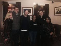 Jan. 8, 2014: Photo caption: Guess who came for dinner this evening!!! The lovely Robert Pattinson and friends  Another comment from the restaurant: Just last night (wednesday) and I have to say he was such a humble guy.   Rob was at Mosob Eritrean in London with his sister Lizzy earlier this evening. The rest of the folks, I don't know who they are. Sadly guys....they aren't me. Shed no tears my friends. I will live.