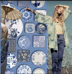 What will you wear next spring? Moody Blues, 2014 Trends, Innovation Design, Color Trends, Pantone, Art Projects, Artist, Inspiration, Denim