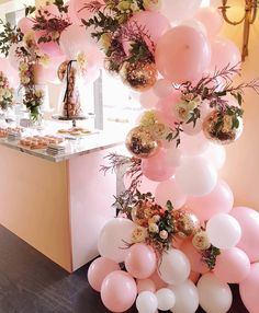 throw back to this gorgeous pink and rose gold garland we did with @glam_wonderland_