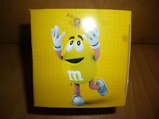 M&M M&M´s European 1 X WATCH,  YELLOW with package NEW Very Rare