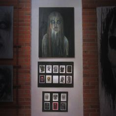 Part of exhibition by Kat von Rose , 2015 Art Festival WPA7   #art #exhibition #katvonrose #finearts