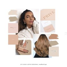 So excited to share the branding I've been working on for new podcast Up Close & Effin Personal ☕️ (it's so good- you should… Nude Color, Colour, Color Inspiration, Moodboard Inspiration, Brand Me, Personal Branding, Visual Identity, Mood Boards, Color Schemes