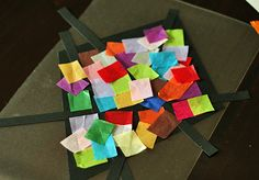 Colorful Stained Glass Kites - Make and Takes