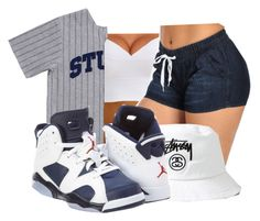 """""""Untitled #97"""" by oh-thatasia ❤ liked on Polyvore featuring Stussy and NIKE"""