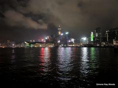 Smokey skyline and ice-cream reflections. Hong Kong, Opera House, New York Skyline, My Photos, Ice Cream, Journey, Building, Travel, No Churn Ice Cream