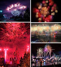 heidialfonzo:    Around the World: 27 Fabulous New Year's Eve Fireworks! | WebEcoist