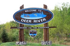 """My home town, Deer River Minnesota.  As my friend Audrey likes to describe it, """"the little piece of heaven between the Iron Range and the Rez."""""""
