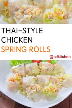 Spring Roll Wrappers on Pinterest | Spring Rolls, Homemade Spring ...