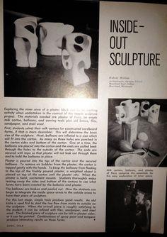 'Henry Moore' Plaster Sculpture » K - 6 Art K – 6 Art  Fantastic examination of negative space