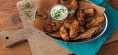 Add a tasty Mexican twist to Potato Wedges by adding Fajita Seasoning Mix. Mexican Food Recipes, Dinner Recipes, Ethnic Recipes, Fajita Seasoning Mix, Potato Wedges, Tex Mex, Santa Maria, Fajitas, Frisk