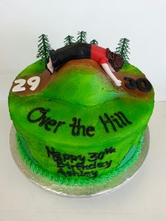 Over the hill birthday cake by #ADCBakery