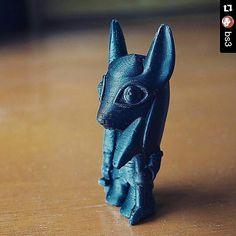 Something we liked from Instagram! Repost @bs3 with @repostapp  3D Printed Standing Anubis  #3dprint #3dprints #3dprinting #3dprinted #3dprinter #3dprinters #fdm #reprap #ultimaker #makerbot #prusa #mendel #prusai3 #maker #delta #diy #likeforlike #makerlabdhaka #dhaka #bangladesh #anubis #egyptian #pharaoh #mummy #pyramid #egypt #heiroglyphics #deskpet #nile #mythical by makerlabdhaka check us out: http://bit.ly/1KyLetq