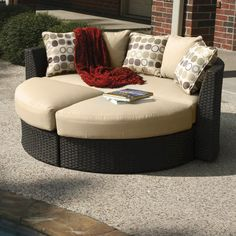 Milano Mankala Dusk Day Lounger At Menards If I Had $1,000 To Drop On Patio  Furniture, This Would Be In My Yard.