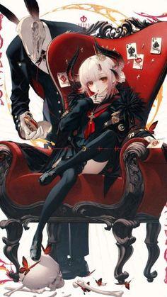 Me Anime, Manga Anime Girl, Kawaii Anime Girl, Anime Guys, Anime Demon, Female Character Design, Cute Anime Character, Character Design Inspiration, Character Art