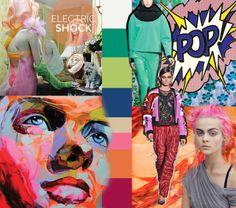TELIO - Fall winter 2014-2015 trends - Tendances automne hiver 2014-2015 - electric-shock