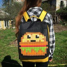 #15x15project #pixelart #upixel #bag #8bit #cheeseburger