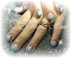 Panther print nails