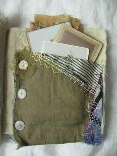 Art journal inspiration. Original pinner sez: - Nellie Wortman Artist  Textile Treasures https://ru.pinterest.com/cjhenri/textile-treasures/?utm_campaign=activity&e_t=65954503493e4079a1a1df565afed016&utm_medium=2003&utm_source=31&utm_content=550776298118099513