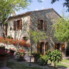 Classic Tuscan farmhouse rental