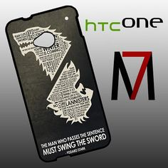 Features: and attractive outlook to fit for HTC One perfectly, and can be installed/removed easily your HTC One from external scratches and shocks or dirt Htc One M7, Game Of Thrones Quotes, Phone Cases, Stylish, Fit, Shape, Phone Case