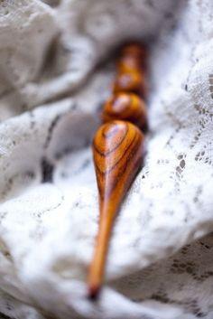 Furls - Handmade Wood Crochet Hook