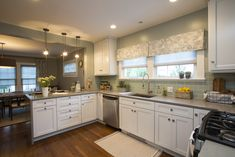 Zodiaq® Dove Grey from Nicole and Michael's Kitchen | Property Brothers: Buying & Selling