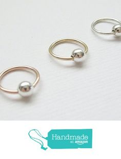 Rose Gold Septum Ring, Sterling Silver Nose Rings, Gold Nose Rings, Cartilage Hoop, Helix Ring, Gold Body Jewellery, Rose Gold Jewelry, Body Jewelry