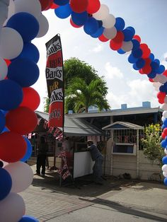 Queen's Diamond Jubilee celebrations in St. Lawrence Gap, Barbados. More photos at https://www.facebook.com/media/set/?set=a.10150860111918388.401140.43203993387=1