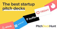 Pitch Deck Hunt is a curation of the best startup pitch decks. Discover the best pitch deck examples from unicorns to new startups! Rocket Internet, Internet E, Tinder App, Tool Design, Pitch, Startups, Digital Marketing, Unicorns, Unicorn