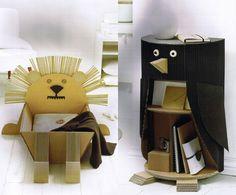 cardboard-animals - Claude Jeantet