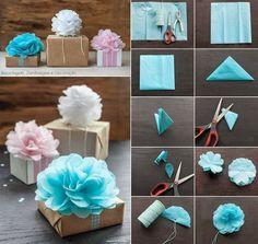 gift packaging -flower